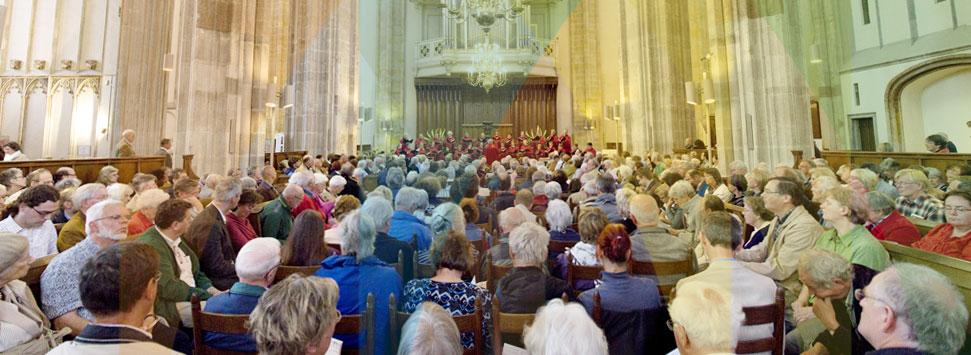 Meedoen met de vespers in de Domkerk