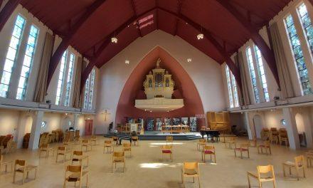 Fysieke kerkdiensten voorzichtig hervat