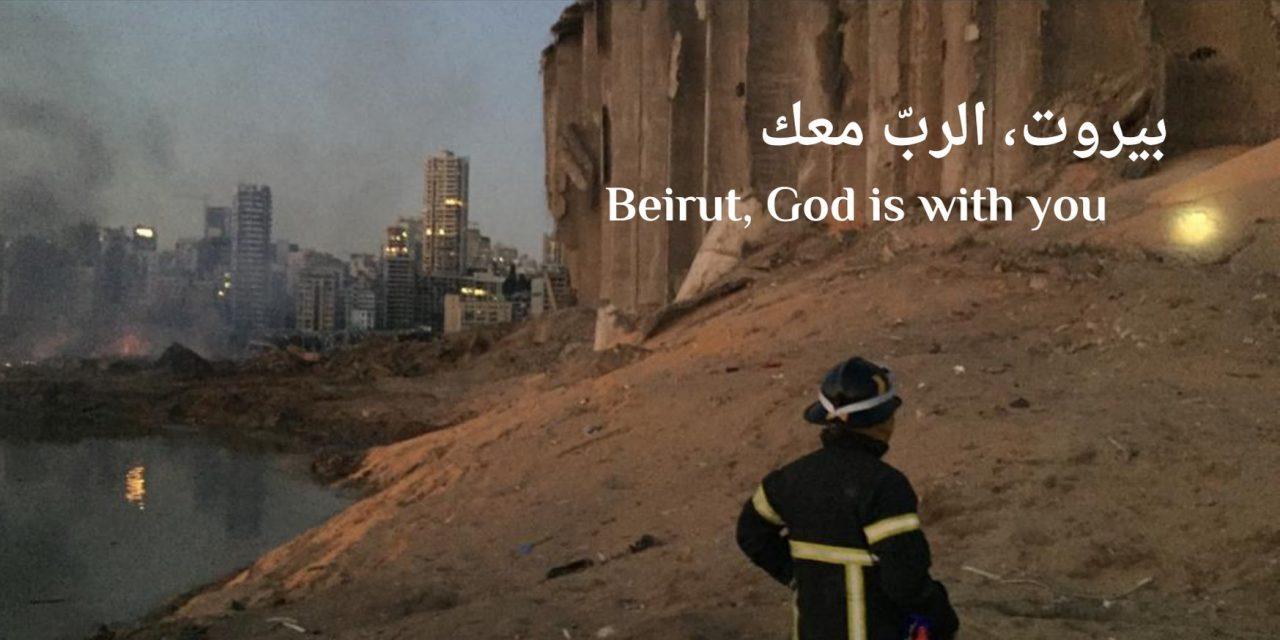 Protestantse gemeenten collecteren voor noodhulp Beiroet