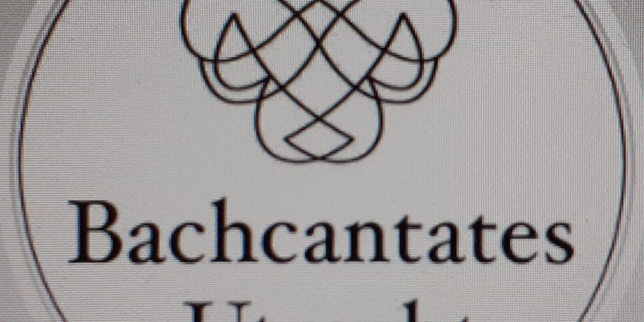 Nieuw seizoen Bachcantates Utrecht (start 13 sept.)