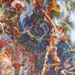 Schilderijen vol kleur en beweging  (Kunst in de Tuindorpkerk, tot eind jan. 2021)