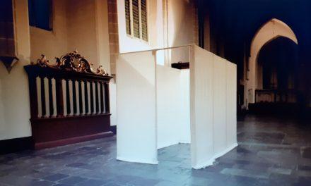 Veertig keer een tent opslaan in de Jacobikerk